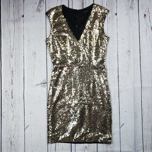 Miss Avenue Sequined Dress Size Small